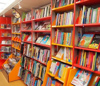 Scholastic Book Shelves