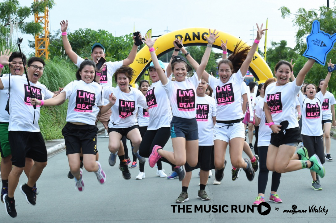 The Music Run Dance Zone
