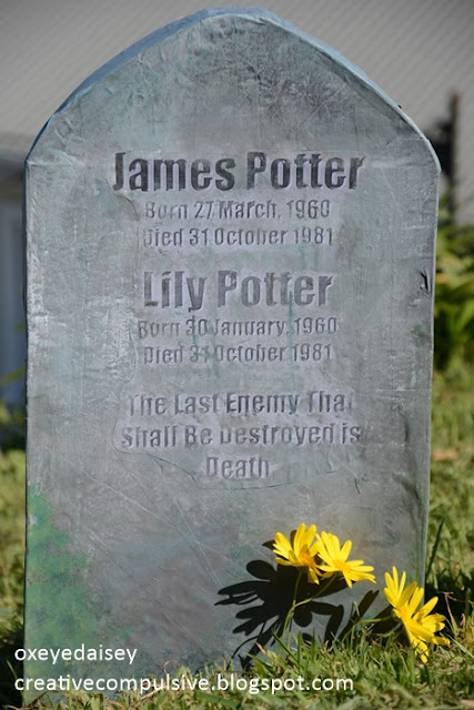 James and Lily Potter Tombstone