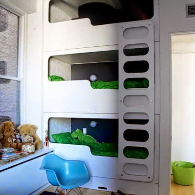 Boy and Girl Room Ideas {share bedroom} — Tip Junkie