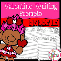 Free Valentine Writing Prompts