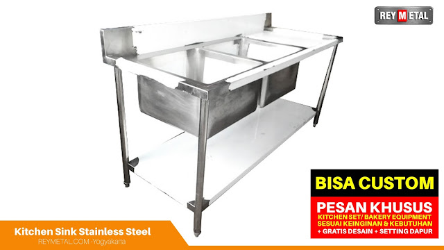 Harga Kitchen Sink Stainless Steel