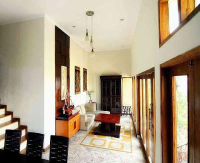 Loby Hotel De Bukit Dago Villa