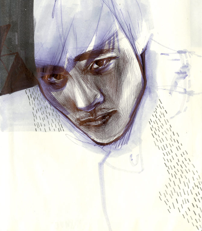 lee byung hun sketch