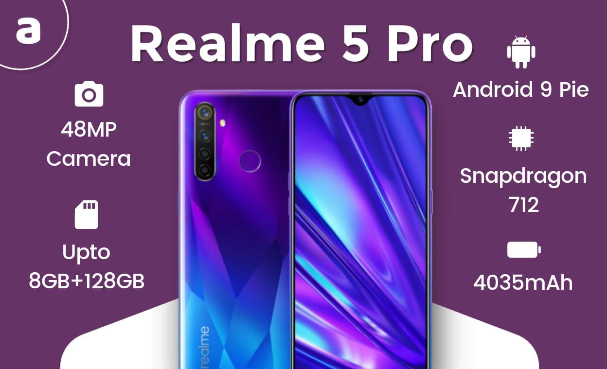 Realme 5 Pro Features