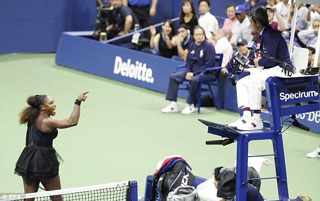 'You will never be on another court of mine' - Read the full transcript of Serena Williams' furious rant at US Open final