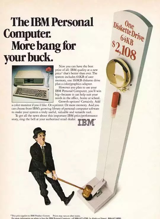 Old days' Computer Advertisements 21