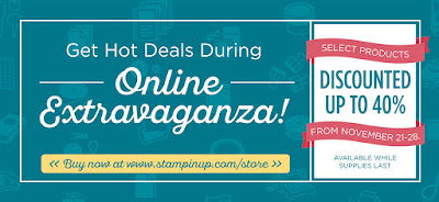 Online Extravaganza Deals Nov 21 to 28th Midnightcrafting.com