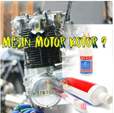 Mesin Motor Kotor dan Cara Membersihkannya