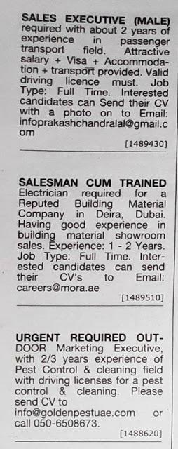 Driving Jobs In Dubai Khaleej Times Information and Ideas