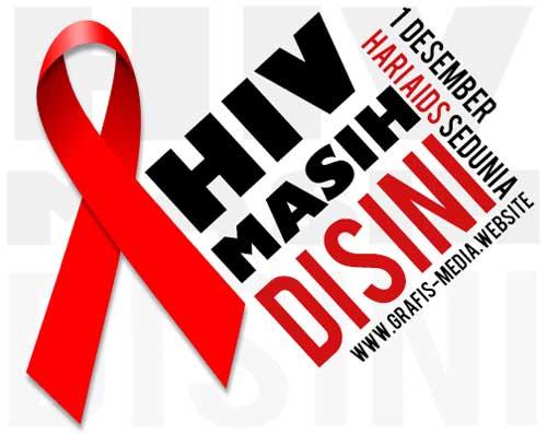 12 Contoh Poster Dan Slogan Hiv Aids Kreatif Grafis Media