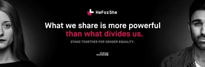 #HeForShe unwomen