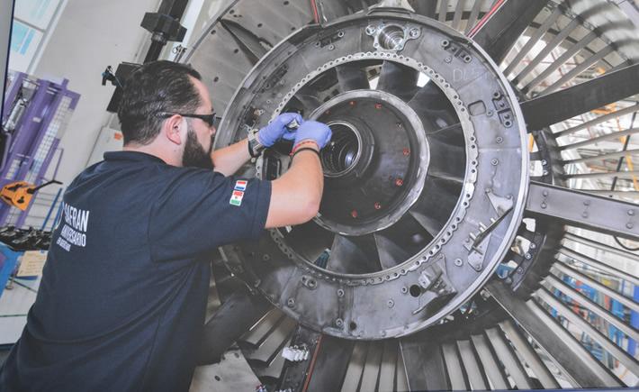 La empresa aeronáutica Safran inauguró de forma oficial su sexta planta en el estado de Querétaro, con una inversión total de 100 millones de dólares. (Foto: Vanguardia Industrial)