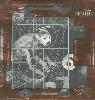 Portada del LP de Pixies: Doolittle de 1989. La carátula muestra un mono con aureola