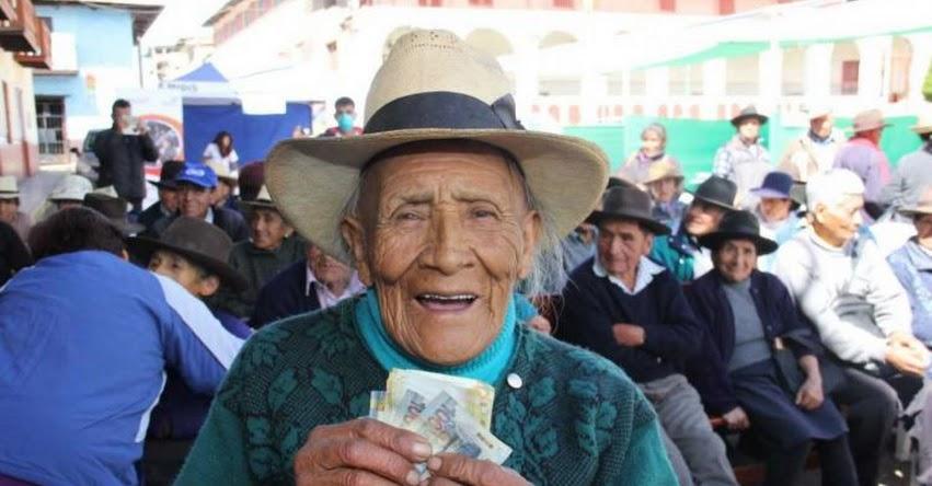 PENSIÓN 65: Este lunes empezará cobro de usuarios en 1,874 distritos de todo el país - www.pension65.gob.pe