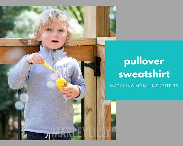grey pullover for children