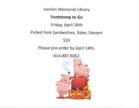 4-14 Hamlin Library Footstomp To Go