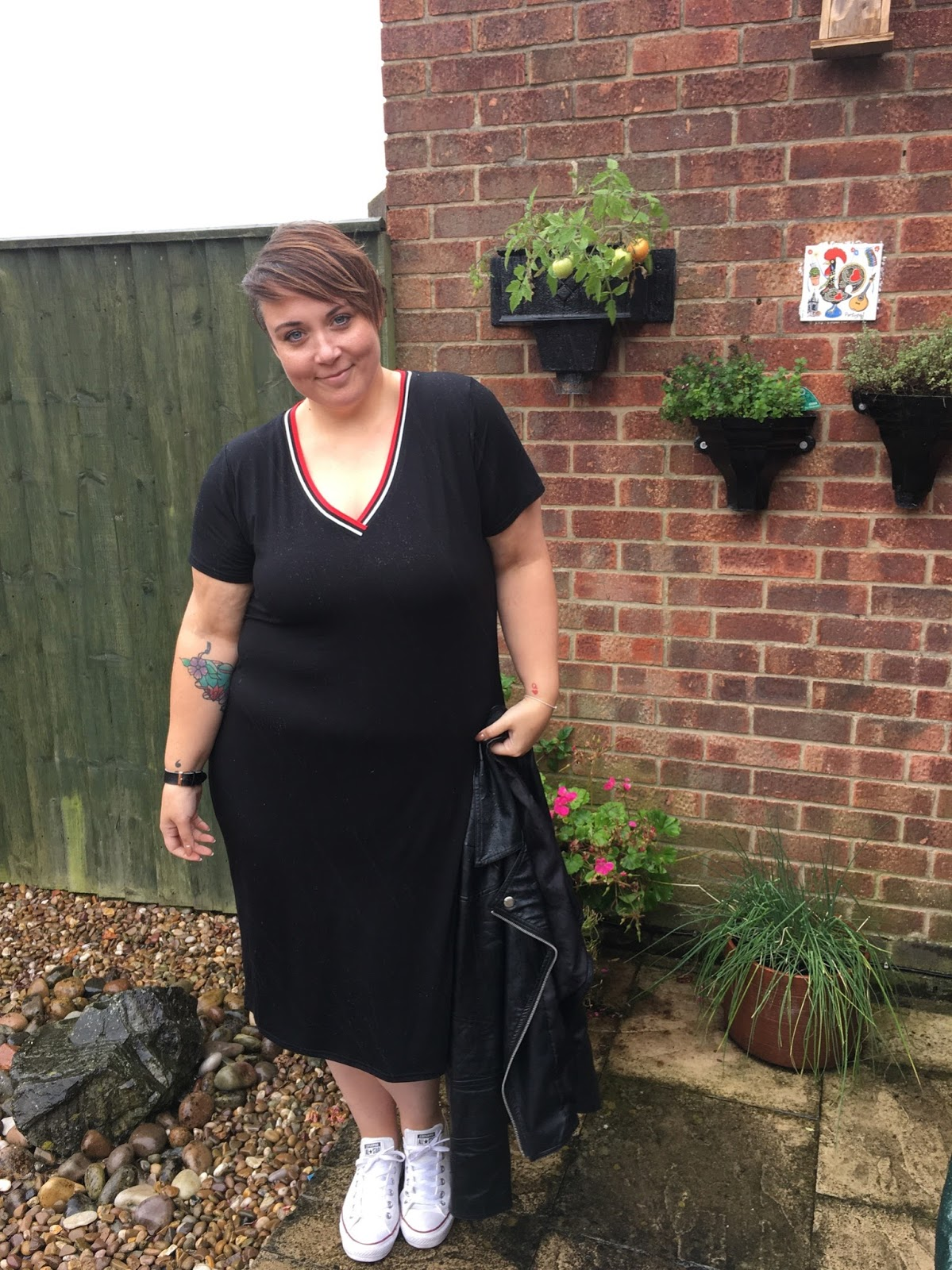 Becky Barnes Blog Plus Size Blogger Style Sporty Chic With Simply Be