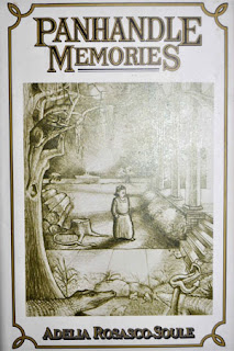 cover of 1987 memoir 'Panhandle Memories' by Adelia Rosasco Soule