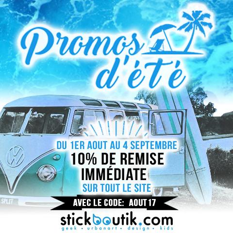 10% de remise immédiate sur tous les stickers www.stickboutik.com