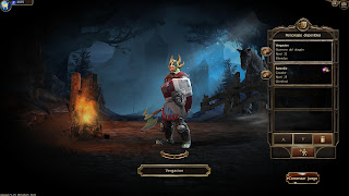 guerrero warrior  drakensang