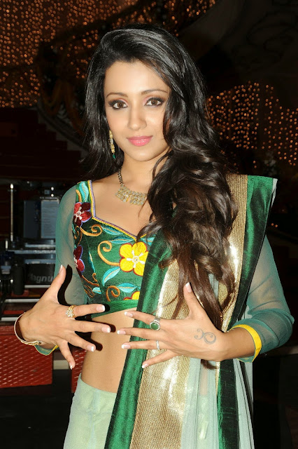 1140 - Most Sexiest 100 Sexiest Photos Of Trisha Krishnan Hot Navel & Cleavage Collection