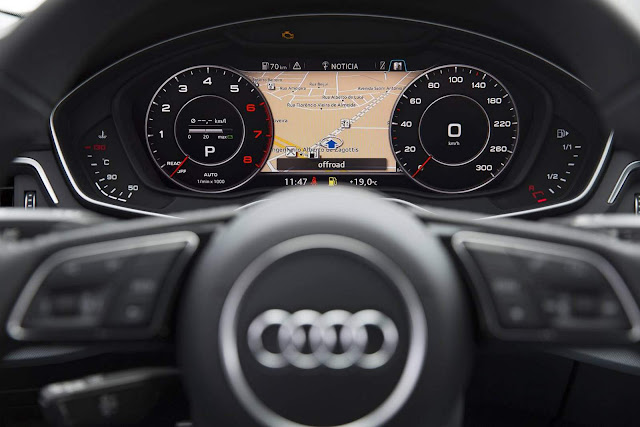 Audi A4 Avabt 2017 - Audi Virtual Cockpit