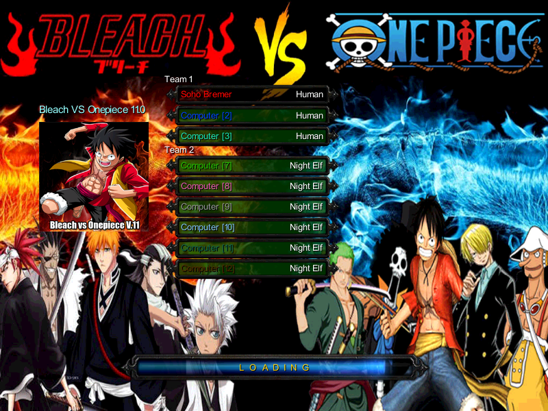 bleach vs one piece 2015 versi 11