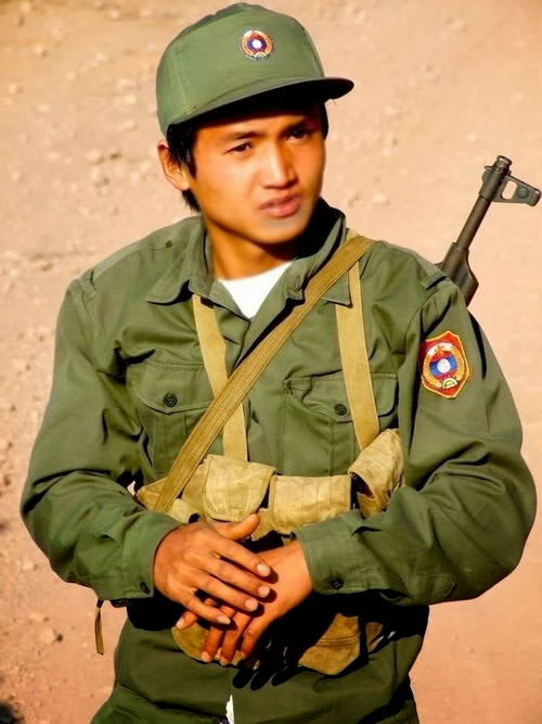 World Military And Police Forces: Laos