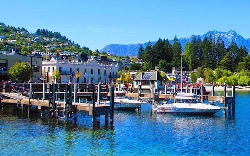 cais de Queenstown – Nova Zelândia