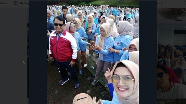 Prabowo Terharu Kekuatan Emak-emak Semakin Deras