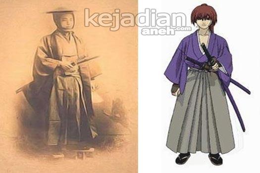Rurouni Kenshin VS Kawakami Genzai 5 Karakter Anime Ini Sebenarnya Ada di Dunia Nyata