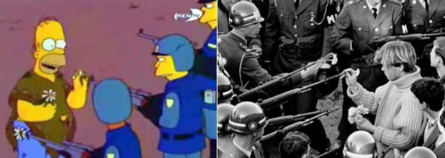 The Flower Power, Los Simpsons
