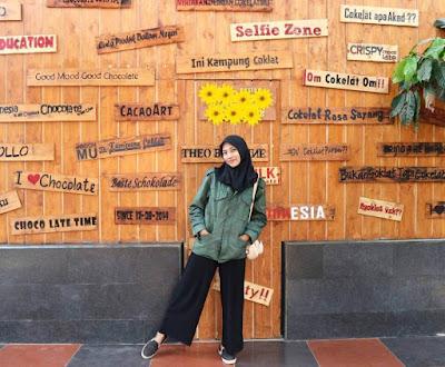 Lokasi Wisata Kampung Cokelat Blitar