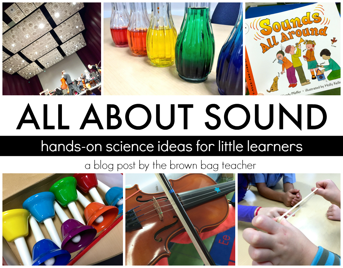 hight resolution of Sound: 1st Grade Science - The Brown Bag Teacher