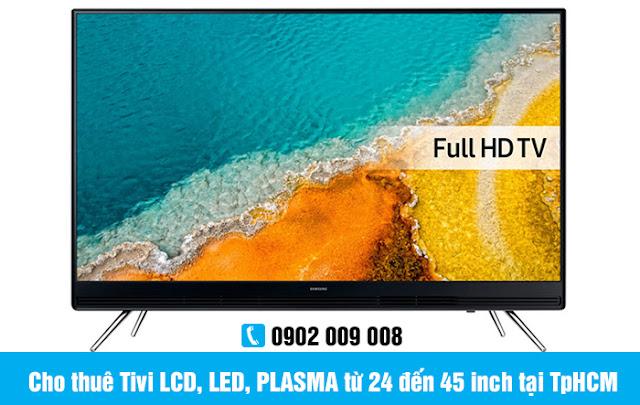 Cho thuê Tivi LCD, LED, PLASMA từ 24 đến 45 inch tại TpHCM