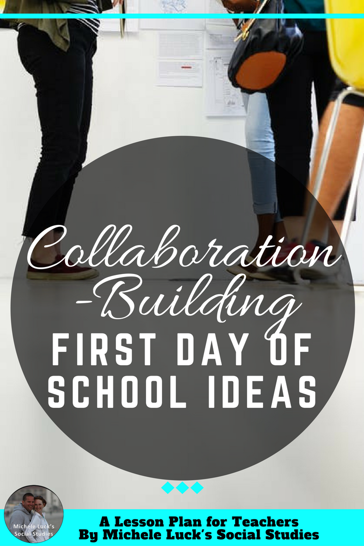 Start off the school year with these easy back to school or first day of  school
