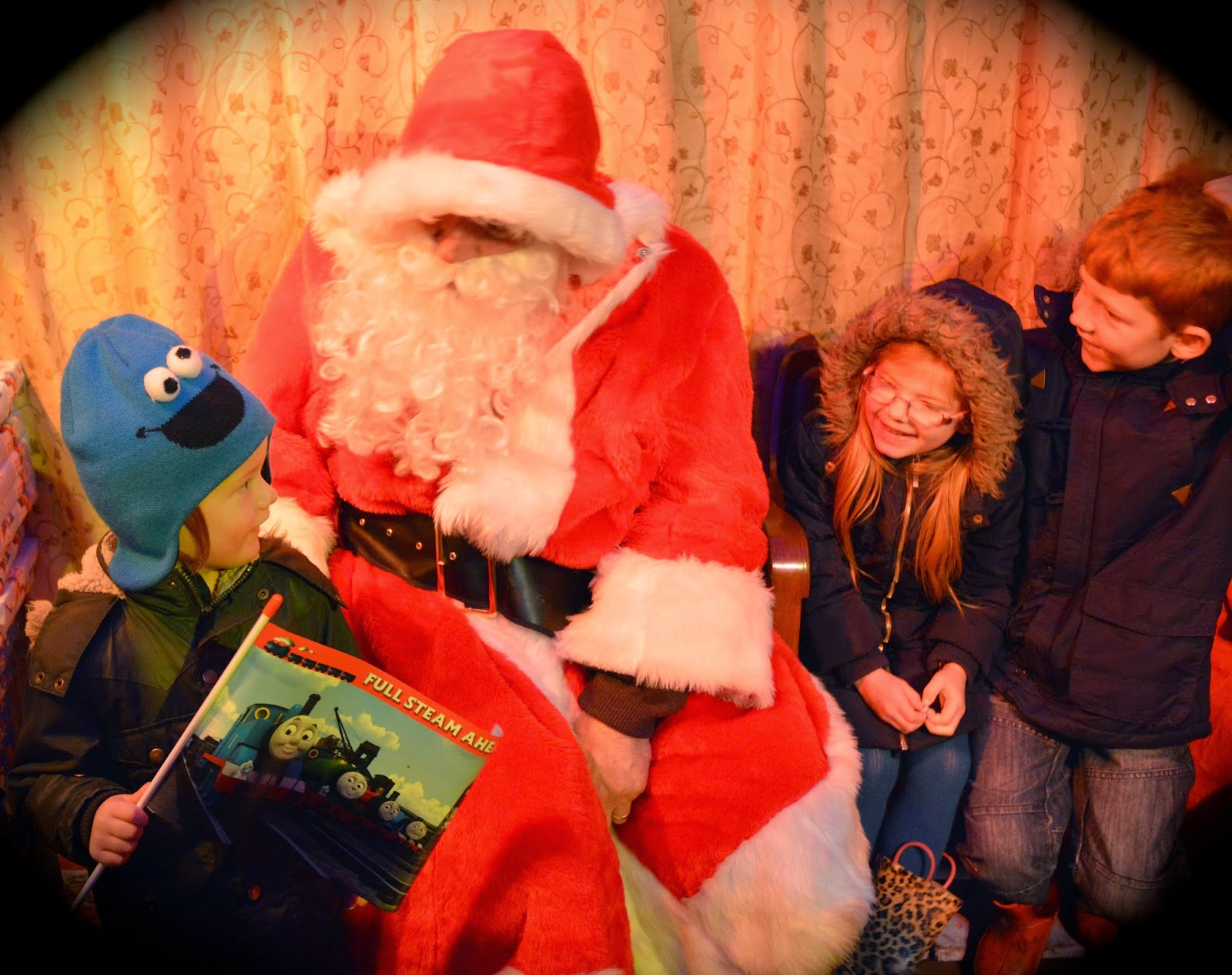 The Original North Pole Express | Tanfield Railway - A North East 'Santa Train' review  - Father Christmas grotto