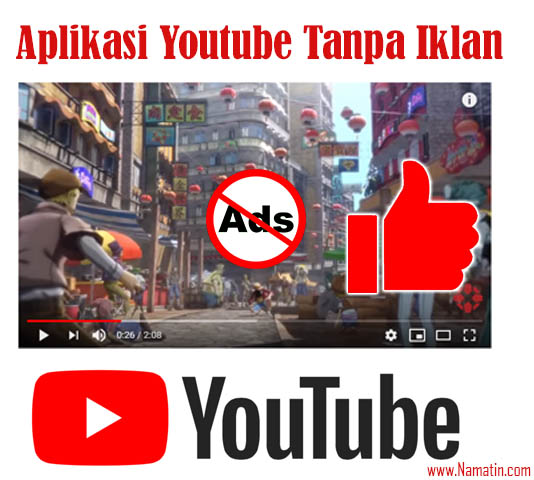 Aplikasi youtube mod tanpa iklan
