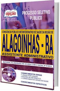 Apostila Concurso Policlínica de Alagoinhas 2018 Assistente Administrativo