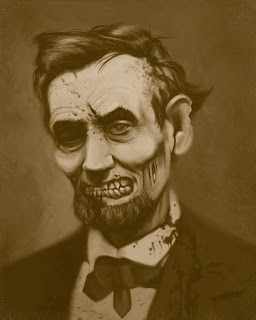 Zombie Abe Lincoln