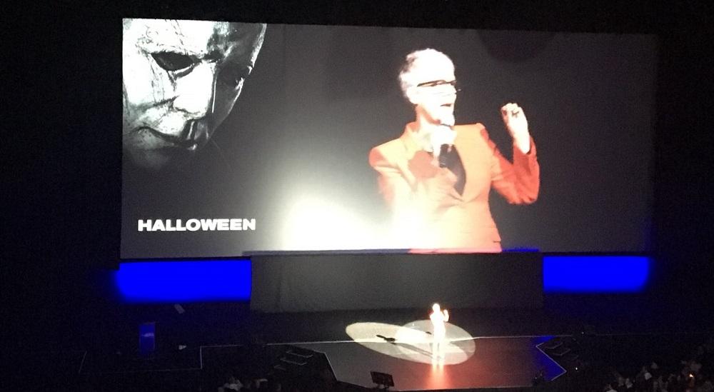 Halloween 2020 Trailer Leaked Cinemacon Halloween Trailer Leaked From CinemaCon [Video]   The Devil's Eyes