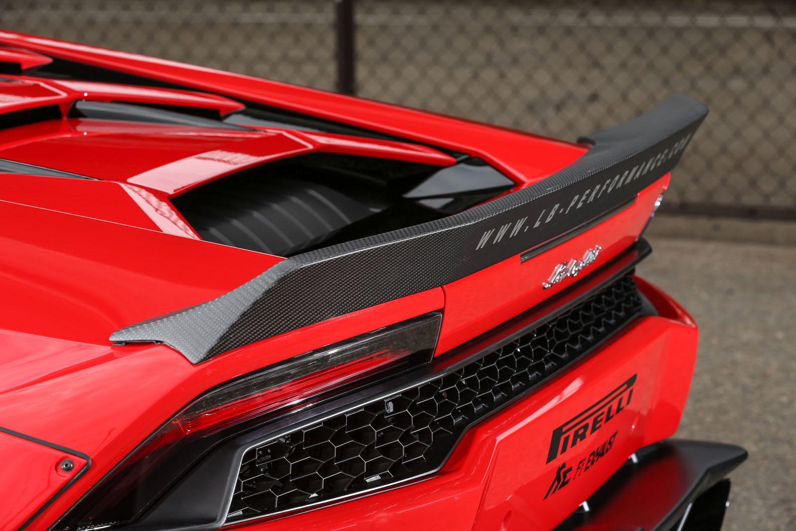 Liberty Walk Lends Lamborghini Huracan More Visual Drama