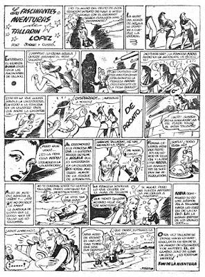 Las fascinantes aventuras de Tallarin Lopez, Pulgarcito nº 45(1947)