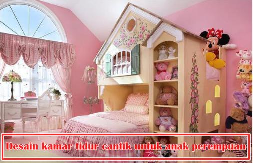 15 desain kamar tidur cantik untuk anak perempuan