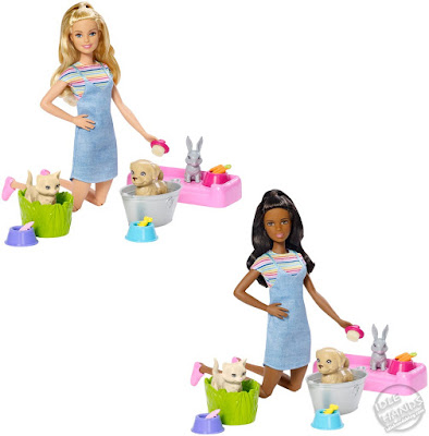 Toy Fair 2019 Mattel Barbie Play & Wash Pets Assortment 24