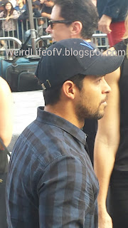 Wilmer Valderrama very casually dressed
