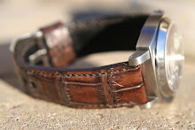 Jon's PAM297 on Antiqued American Alligator 'SuperExotica' strap