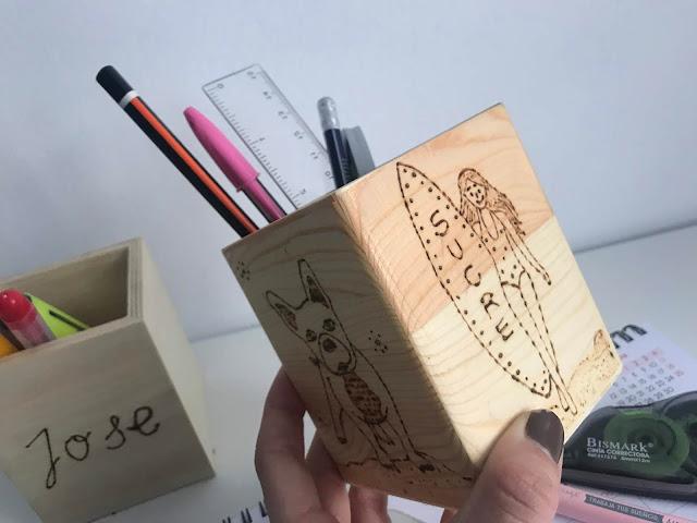 Cajitas de madera personalizadas