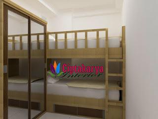interior-kamar-anak-ranjang-susun